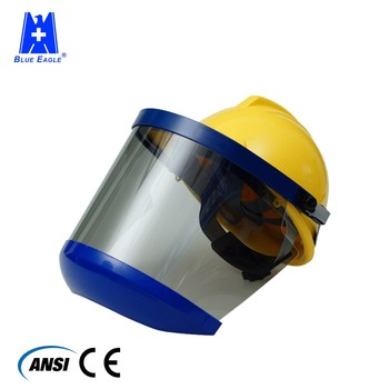 Industrial equipment electrical arc flash safety face visor