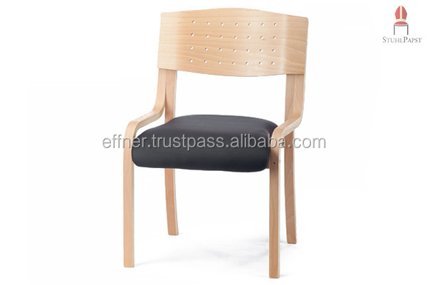 Com.fort deLux - Fashionable upholstered chairs, padded wooden chairs, stacking chairs Seminar