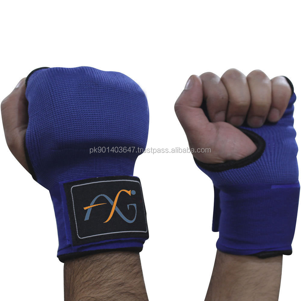 Quick hand wrap gloves