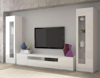 Living Room Furniture Unit Simple Modern New Model Design Laminate Wooden Tv Stand Cabinet With Showcase Home