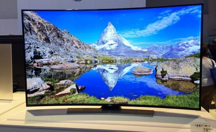 "Sam Sung HU9000-78 ""3D Curvo LED Smart TV-4 K UltraHD-240Hz"