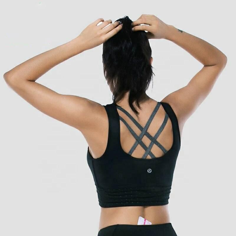 2019 nouveau soutien-gorge Yoga sangle Sexy personnalisé athloisirs femmes soutien-gorge de sport