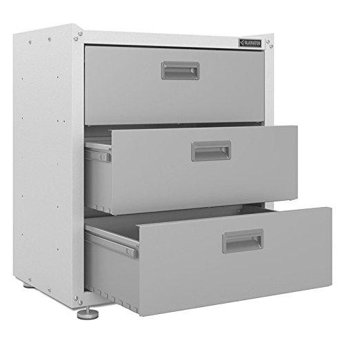 Gladiator Ready to Assemble Steel 3-Drawer Freestanding Garage Cabinet