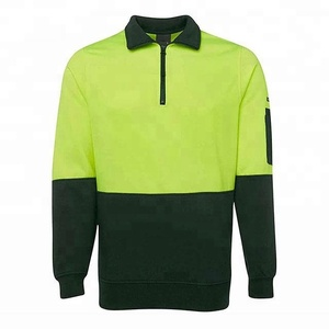 High visibility sweatshirt security uniform working wear