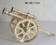 Brass Antique Miniature Cannon