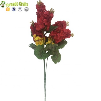 top-grade with Begonia leaf artificial  swallow flowers