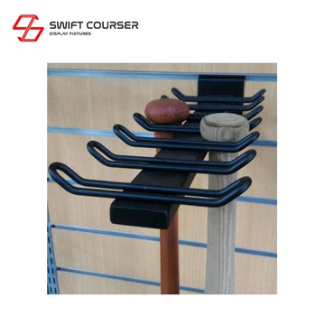 Swift baseball bat and ball set wall mount rack