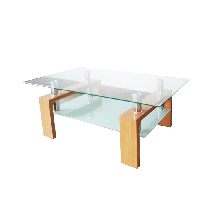 कॉफी टेबल थोक अंत कोने केंद्र छोटे कमरे में रहने वाले फर्नीचर सेट आधुनिक पक्ष लकड़ी कॉफी टेबल CT008
