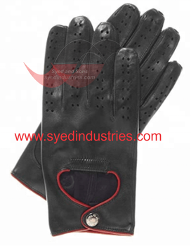 Fashion Leather Gloves made With Quality Sheep Leather