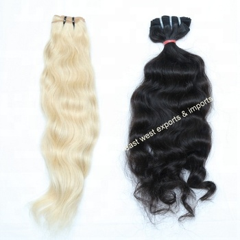 Wholesale Nice Looking Best Quality Virgin Human Natural Hair Weave 100% Silky Straight Indian Virgin Hair