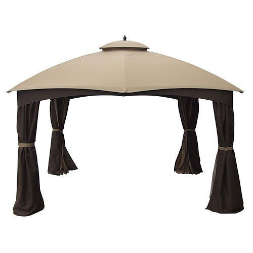 Garden Winds Replacement Canopy for Lowe's Dome 10 x 12 Gazebo Replacement Canopy - Riplock 350