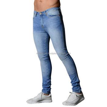 Mens Stretchy Skinny Jeans Biker Trousers Jogger Slim Fit Denim Ripped Pants New Buy Men Denim Jogger Pants,Joggers Denim Jeans Pants,Denim Joggers