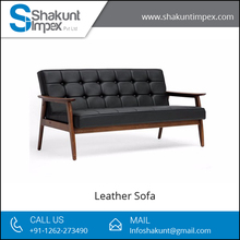 Big Size Leather Lounge Chair/Leather Sofa for Living Room