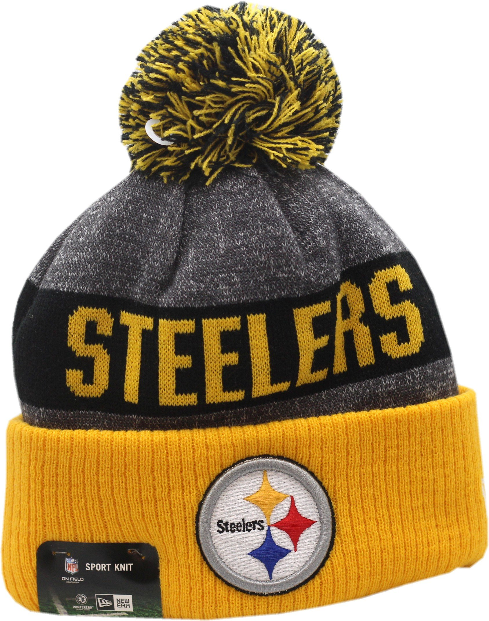 59c41f8ed Buy Pittsburgh Steelers 2014 New Era On-Field Sport Knit Sideline ...