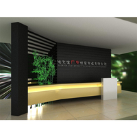 Guangzhou manufacturer acrylic solid surface reception counter
