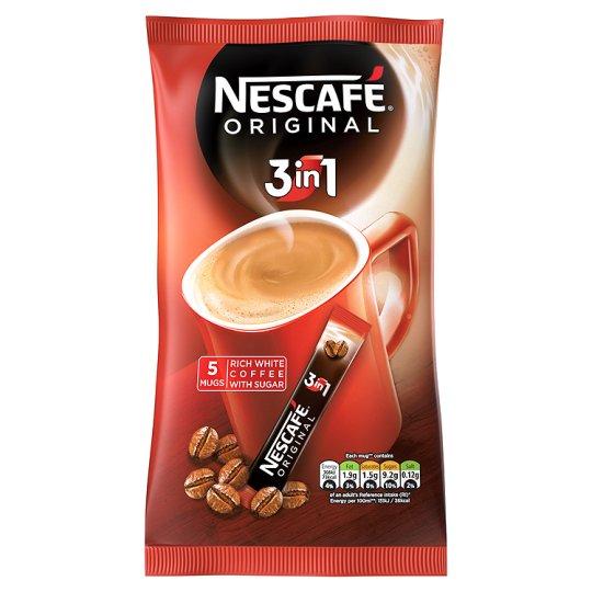 buy direct nescafe original 3 in 1 instant coffee 5 sachets 85g