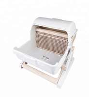 New Design pet cleaning Cat Litter Box Pet Toilet
