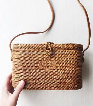 Natural Rattan Basket Bag 67bede2432831
