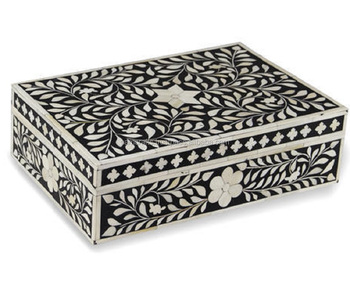 Bulk Supplier Beautiful Bone Inlay Jewelry Box Buy Bone Jewelry