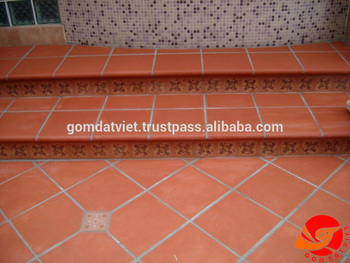 Terracotta Floor Tiles For Sales In Sri Lanka Natural Extruded Tiles ...