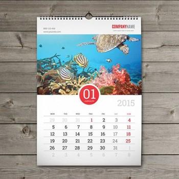 wholesale cheap full color printing custom table wall calendar buy