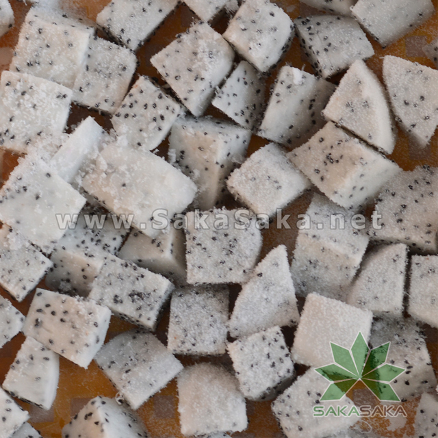 Frozen Dragon Fruit Vietnam - Dice/Chunk/Cube