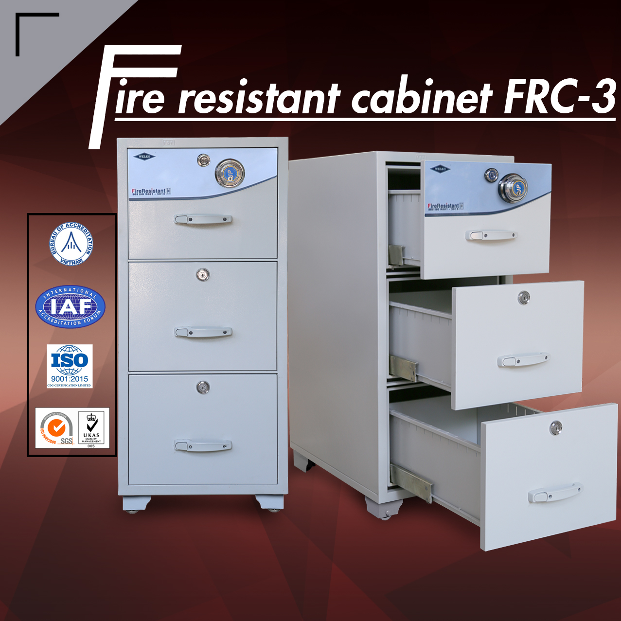 fire resistant cabinet high quality - FRC 3