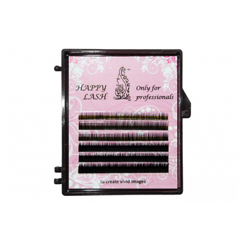 Dark Brown Lashes Lovely-MIX MINI - 6 Lines