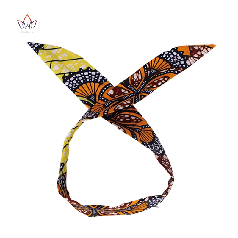 Wholesale Fashion African <strong>Headband</strong> For Women Ankara <strong>Headband</strong> Decorations Wrap Tie Scarf Africa Hair Accessories BRW WYB372