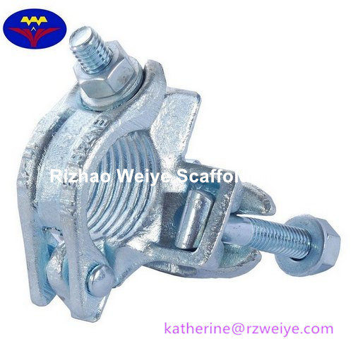 Drop Forged Double Coupler/Right Angle Clamp for Tubular Scaffolding