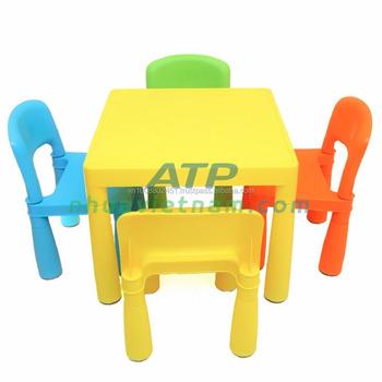 La Cher Table En Chaises Coloré Plastique À Enfants Pas Pour Et hBtCxsrQd