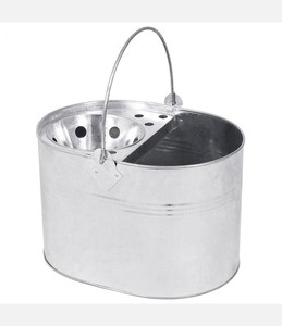 Home storing transporting Housekeeper Galvanized Steel Metal Cleaning Tool Caddy