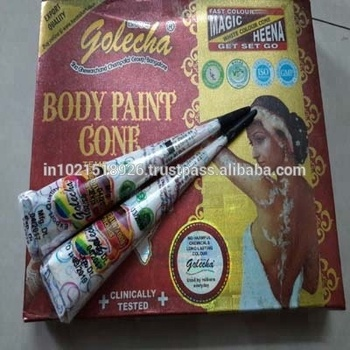 Competitive Products Golecha White Henna Mehndi Cones Buy Henna
