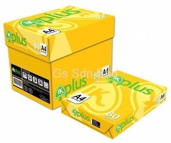 Ik A4 Amarelo Papel 75gsm 500 Folha Por Resma