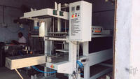 Heat tunnel shrink wrapping machine/pallet shrink wrap