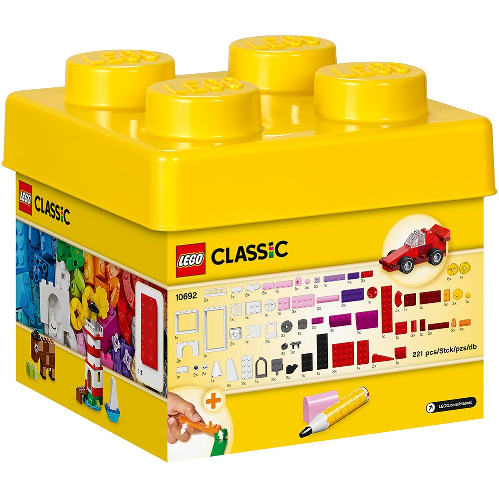 Cheap Classic Lego Find Deals On Line At Alibabacom 10709 Orange Creativity Box Get Quotations Small Creative Bricks Kids 221 Piece Building Set 10692