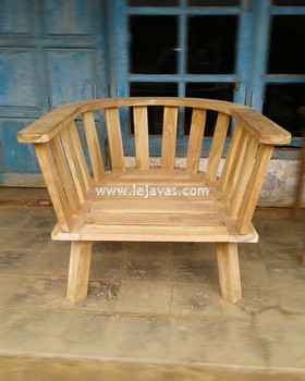 Teak Furniture Jepara - Alsheiraz Arm Chair Outdoor Furniture