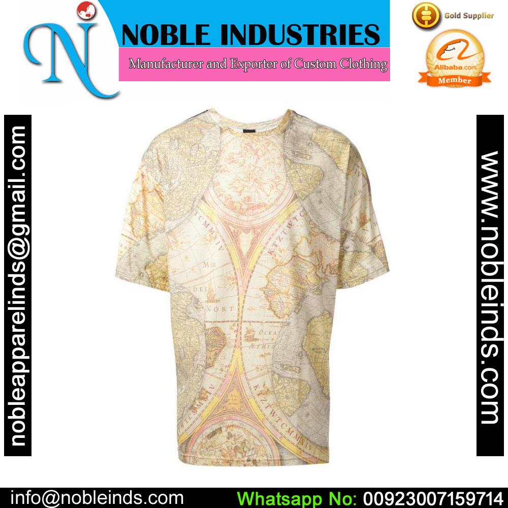 Oem Custom Printing Full Color Sublimation Sport 3d T Shirt