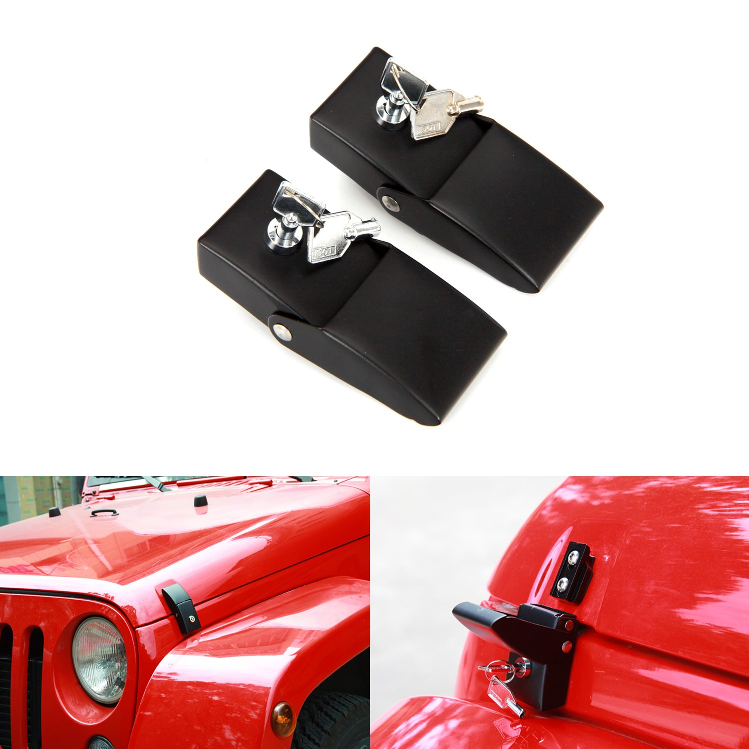 Cheap Jeep Wrangler Hood Find Deals On Line At Release Get Quotations Stainless Steel Latches Lock Catch Kit For Jk 2007 2017