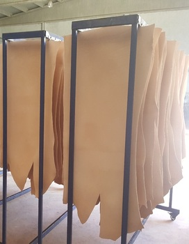 Vegetable-Tanned Cow hide Leather