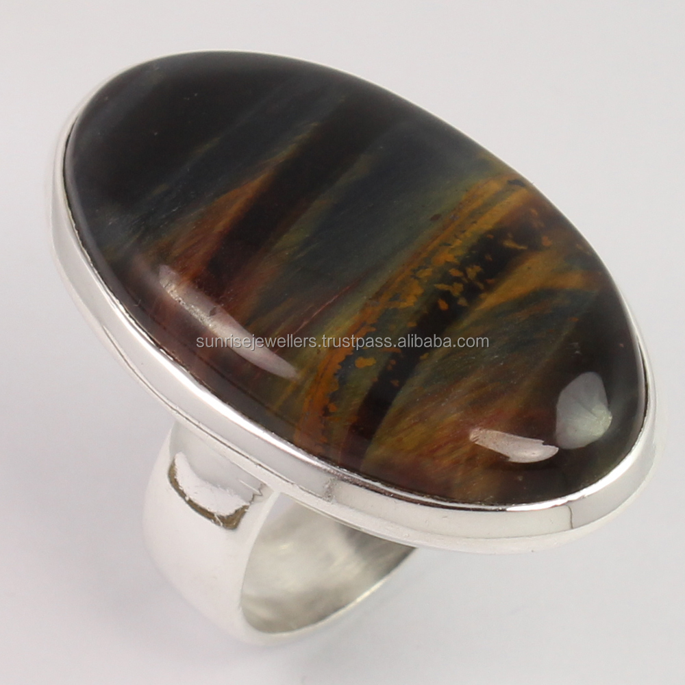 pietersite silver metallic chevron jewelry gallery normal lyst product yurman with rings david in ring narrow