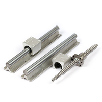 any length free chare to cut CNC router Aluminum Profile Support Rail linear guide SBR12 block bearing SBR12UU