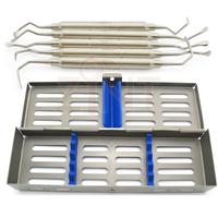 5 Pieces Dental Sinus Lift Implant Assorted Oral Surgery Dental instruments With Stainless Cassette