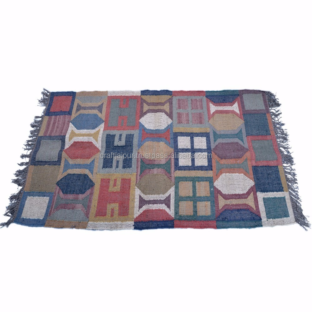 Handmade Textile Wool Jute Rugs Throws Indian Dhurrie Product On Alibaba Com