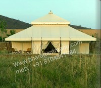 Indian vintage anti fungal and fireproof camping luxury Maharaja tent