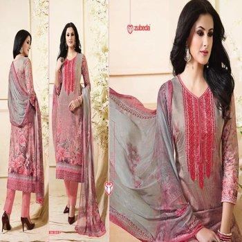 Latest Punjabi Designer Salwar Kameez Suit Neck Work Dupatta Print Bridal Party Wear Buy Woman Dress Designer Printed Suit Party Wear Latest Bead