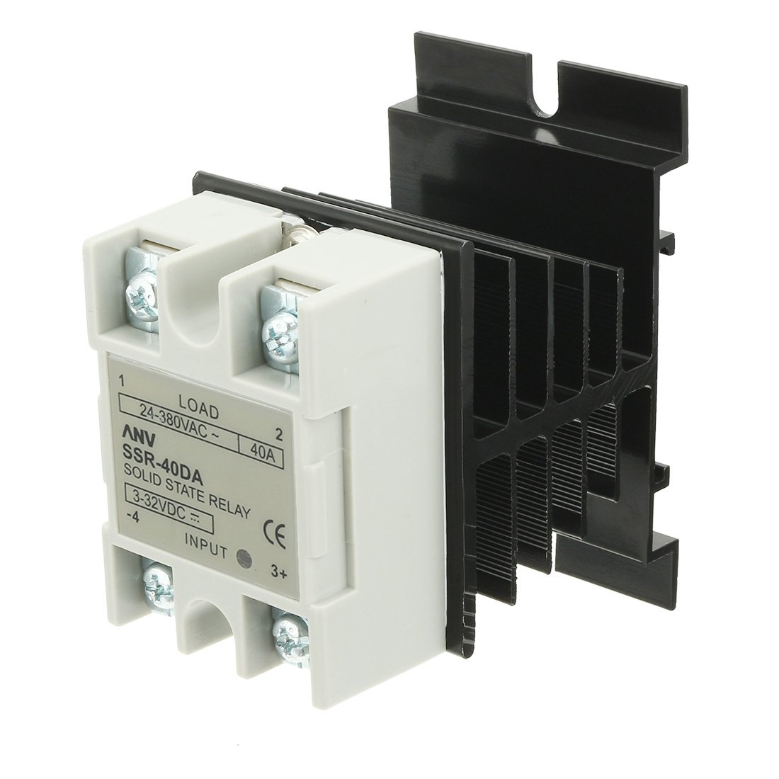 Cheap Ssr 40da Solid State Relay Find Arduino Ac Get Quotations Uxcell 40 Da 40a Dc 32 32v To 24 380v