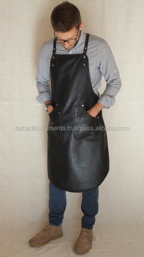 Greatest Best Leather Apron Barber - Kitchen - Work Wear - Chef Apron  TF69