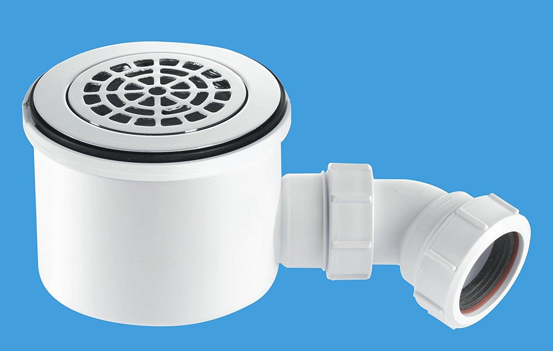chrome by Mcalpine Kitchen Sink Strainer Waste Plug McAlpine bwstss-top