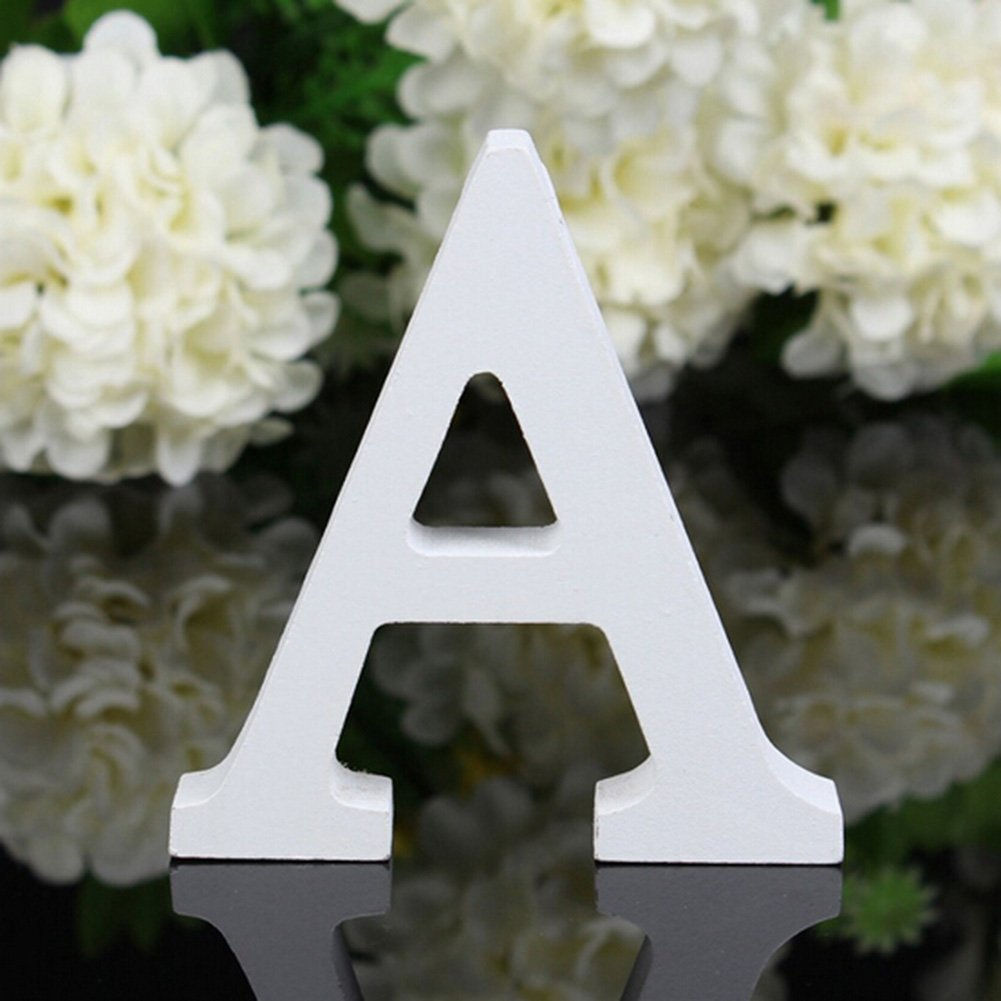 totoo decorative wood letters hanging wall 26 letters wooden alphabet wall letter for children baby